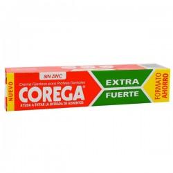 Corega Extra Fuerte Crema Fijadora de Prótesis 70 gr. Formato Ahorro