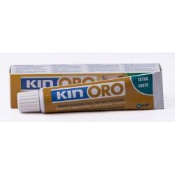 Kin Oro Crema Fijadora Extra Fuerte para Prótesis Dentales, 40 ml.