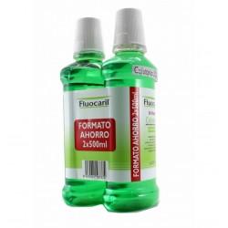 Fluocaril Bi-Flouré Colutorio con Flúor FORMATO AHORRO 500+500ml.