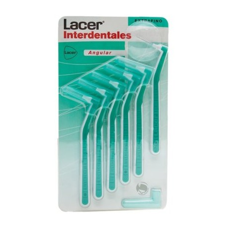 Lacer Cepillo Interdental Angular Extrafino 6 ud. Verde