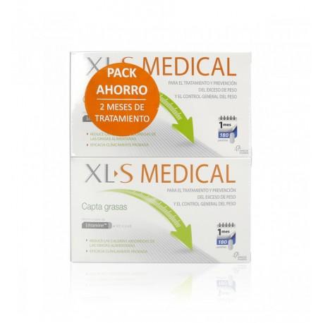 XL-S Medical Capta Grasas PACK AHORRO 180+180 pastillas. 2 Meses de tratamiento
