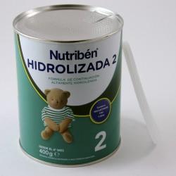 Nutriben 2 HIDROLIZADA +6 meses Fórmula continuación Lata 400 g.