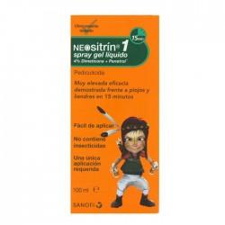 Neositrin 1 Spray Gel Líquido Antipiojos 100 ml.