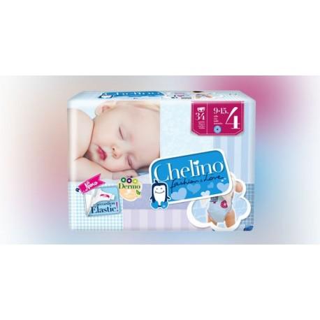 Chelino Pañales Bebé Talla 4, de 4 a 10 kg. 36 Uds.