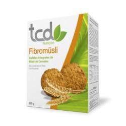 tcd Galletas Fibromüsli Cereales, Caja 500 gr.MEJOR PRECIO WEB:6.80€