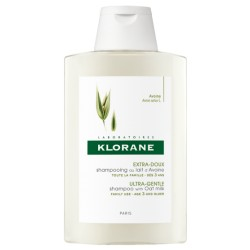 KLORANE CHAMPÚ A LA AVENA, CABELLO NORMAL 400 ML.