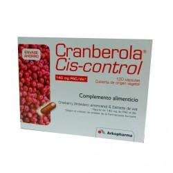 Arkopharma Cranberola Cis-Control, Complento Alimenticio, 120 Cápsulas.