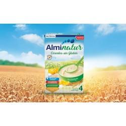 Almirón Alminatur Papilla de Cereales Sin Gluten, 250 g