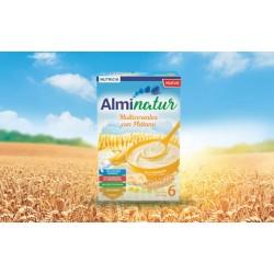 Almirón Alminatur Papilla Cereales con plátano 250 g.