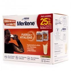 Meritene PROMOCIÓN Batido Fibra Chocolate, 14 sobres