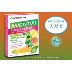 ARKOVITAL PURA ENERGIA 30 COMP. MEJOR PRECIO WEB 8.95€