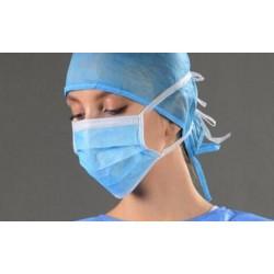 Mascarilla quirúrgica lote de 10 unidades