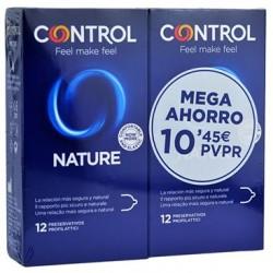 Control Preservativo Nature PACK Mega Ahorro 12+12 Ud.