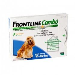 Frontline Combo Spot-On Perro 10-20 Kg, 3 pipetas