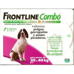 Frontline Comb Spot-On Perro 20-40 Kg, 3 pipetas
