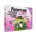 Frontline Tri-Active 2-5 Kg, 3 pipetas