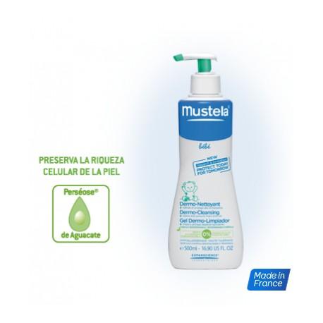 Mustela Gel Dermo Limpìador Cabello y Cuerpo 750 ml.