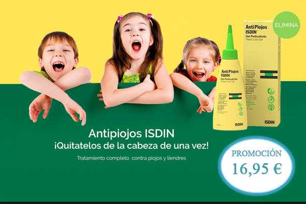 Antipiojos Isdin gel 100 + liendrera