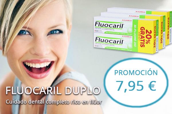 Fluocaril PROMOCIÓN Bi-Flouré 2500 ppm Doble Acción Anticaries PACK 2 uds 125ml GRATIS 20%