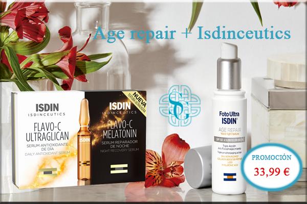 age repair + isdinceutics
